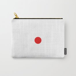 Mod Target - Red and White Carry-All Pouch