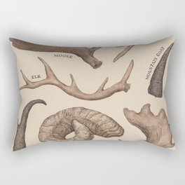 Antlers Rectangular Pillow