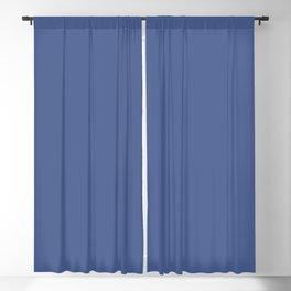 Indigo Evening ~ Soft Denim Blackout Curtain