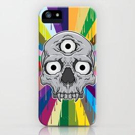 3 Eyed Jackass iPhone Case