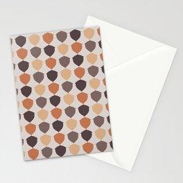 Fall Acorns Stationery Cards