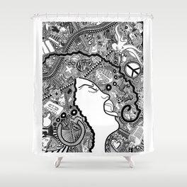 Soul Singer Shower Curtain