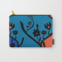 non-repeat florals Carry-All Pouch