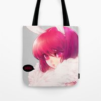 barachan Tote Bags featuring synthetic by barachan
