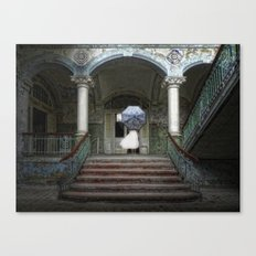 palace of the forgotten dreams Canvas Print