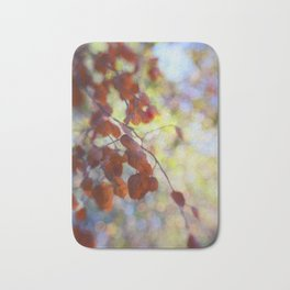 Dreaming on a Summer Day abstract nature photo Bath Mat