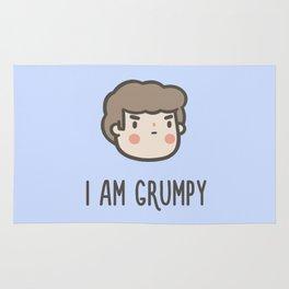 I Am Grumpy Rug