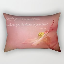 Delight Yourself Rectangular Pillow