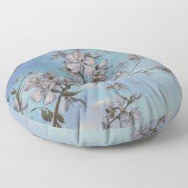 Orchid Tree Blooms Floor Pillow