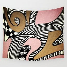 Dusty Pink Wall Tapestry