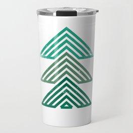 Mountain trees vintage Travel Mug