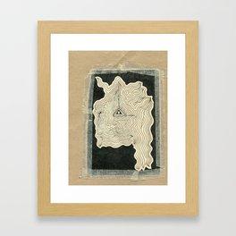 Medalitation Framed Art Print