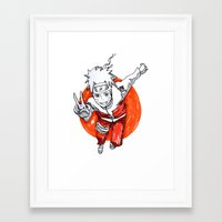 naruto Framed Art Prints featuring Naruto by Jas-Sparks