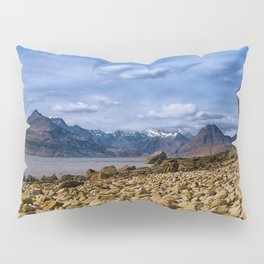 The Cuillin from Elgol, Isle of Skye Pillow Sham