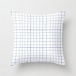 Graph paper Throw Pillow
