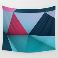 amelie Wall Tapestries featuring AMELIE by Taylor English