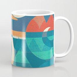 Mountains and Waves Coffee Mug