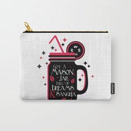 Mason jar Carry-All Pouch