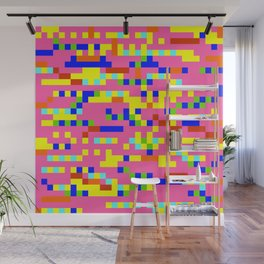 Pink Candy Camouflage Wall Mural