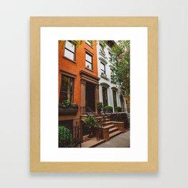 Brooklyn Heights II Framed Art Print