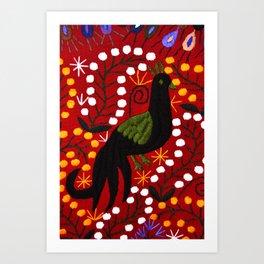 mexican art Art Print