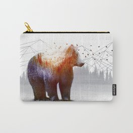 A Wilderness Within / Bear Carry-All Pouch