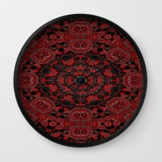 Regal Red 2 Wall Clock