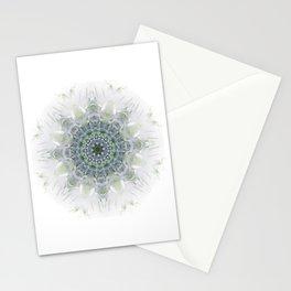 Light Birch Mandala Stationery Cards