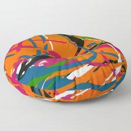 Wet Paint no. 04 Floor Pillow