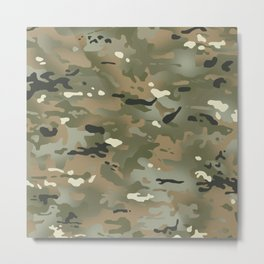 Camouflage: Jungle Colors III Metal Print