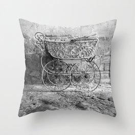 Italian Pram Throw Pillow