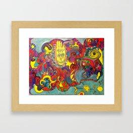 Zero Point Energy Framed Art Print