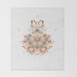 Inkdala XXVIII - Psychology Art Throw Blanket