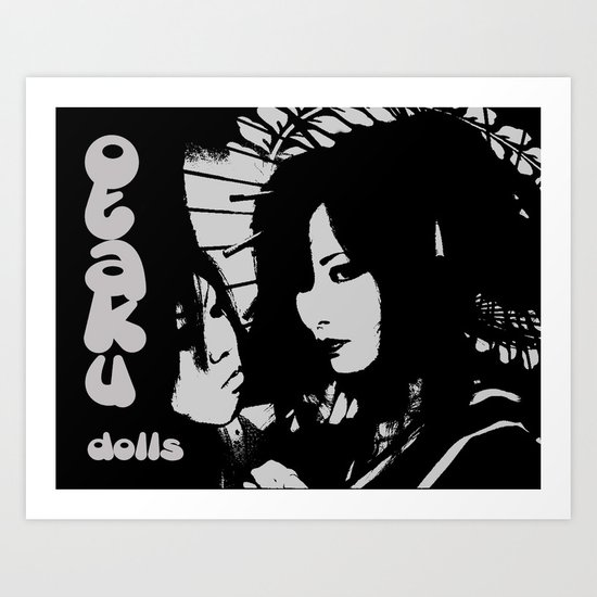 Otaku dolls Art Print
