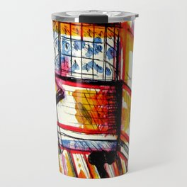sun times & jerry's window Travel Mug