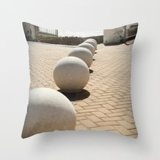 Invisible bonds Throw Pillow