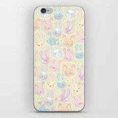 too many bunnies iPhone & iPod Skin
