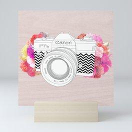 BLOOMING CAN0N Mini Art Print