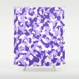 Camouflage Purple Shower Curtain