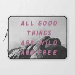 Wild and free Laptop Sleeve