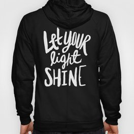 Let Your Light Shine x Mint Hoody