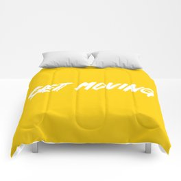 Get Moving! Comforters