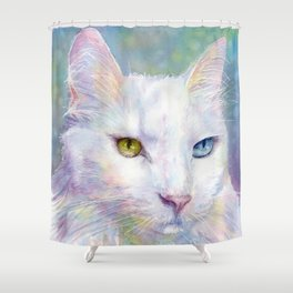 Bunny the cat. Shower Curtain