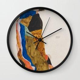 Egon Schiele Moa Wall Clock