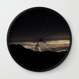 L.A. Nights Wall Clock