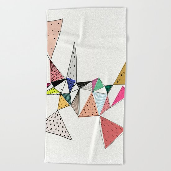 Amalgam Beach Towel