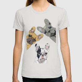 Triple Frenchies T-shirt