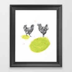 Chattin Framed Art Print