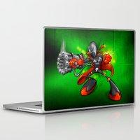 spawn Laptop & iPad Skins featuring Spawn  by alexviveros.net