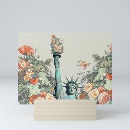 Floral Liberty  Mini Art Print
